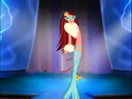 Chelsea as a mermaid costume