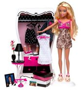 My Scene Getting Ready Barbie Doll