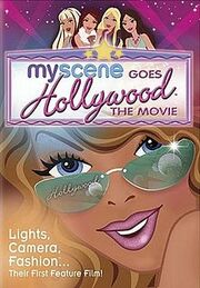 My Scene Goes Hollywood DVD