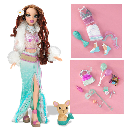 Barbie Doll My Scene Masquerade Madness Chelsea Outfit Mermaid Skirt Costume