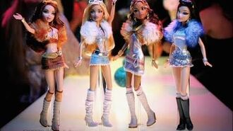 Barbie My Scene My Bling Bling dolls commercial -1! 2005 HD