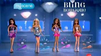 Barbie My Scene Bling Boutique Commercial! (ENGLISH) (2010)