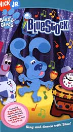 Blue's Clues Bluestock VHS