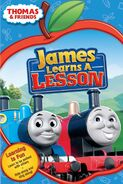 JamesLearnsaLesson2009DVDcover