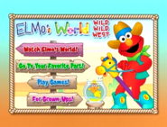 Elmo'sWorldWildWildWestDVDmenu1