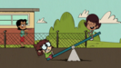 S2E20B Lisa and Darcy on the see-saw