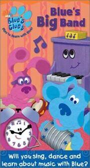 Blue's Clues Blue's Big Band VHS