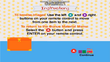Baby Newton DVD Menu Instructions