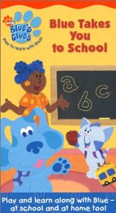 Blue's Clues Blue Takes You to School VHS