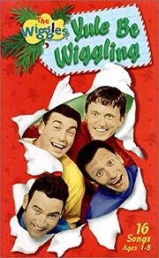 The Wiggles Yule Be Wiggling VHS Cover