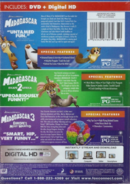 MadagascarDVD+DigitalHD+3 Movies