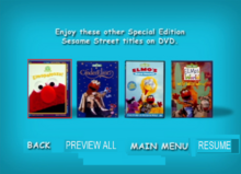 Sesame Street Kids Favorite Song 2 DVD Previews3