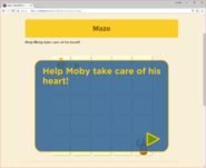 Moby's Maze Heart 1