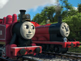 The Fastest Red Engine on Sodor