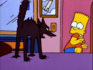 The Simpsons Barts Sells His Soul Cats Two Angry YowlsD PE022601 (5th yowl)