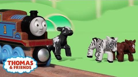 Animal Park Escape! Playing Around with Thomas and Friends Thomas & Friends