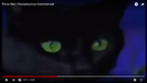 Pizza Hut Goosebumps Commerical Cats Two Angry Yowls