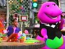 Barney & Friends Let's Eat Sound Ideas, ZIP, CARTOON - QUICK WHISTLE ZIP OUT (2)