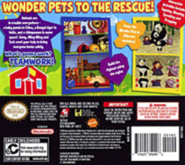 Wonder Pets!Save the Animals!DSbackcover