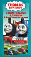 JamesLearnsaLessonandOtherThomasAdventures2001VHScover