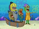 Spongebob one krabs trash man laughs hard stea