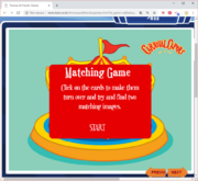 Matching Game (Carnival Capers) 1