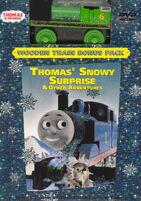 Thomas'SnowySurprise&OtherAdventuresDVDWithWoodenRailwayJackFrostPercy