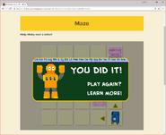 Moby's Maze Sending a Ltter 8