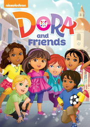 Dora and Friends Into the City DVD Cover