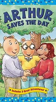 Arthur Saves The Day VHS Cover