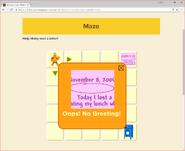 Moby's Maze Sending a Ltter 6