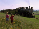 Thomas and the Magic Railroad Sound Ideas, TRAIN, STEAM - WHISTLE, MANY BLASTS, CLOSE UP 4