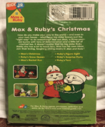 Max and Ruby's Christmas VHS back cover