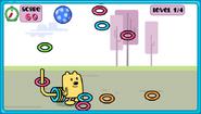 Wubbzy's Wow! Wow! Ring Catch Gameplay