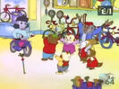 CHILDREN - CHEERING, CROWD 01 The Busy World of Richard Scarry