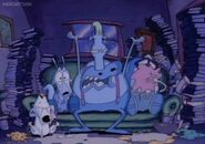 Rocko Heffer Filburt and Spunky crying