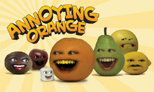 The annoying orange cover