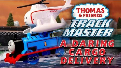 A Daring Cargo Delivery with Thomas & Friends TrackMaster Playing Around with Thomas and Friends