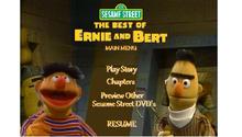 Sesame Street The Best of Ernie and Bert DVD Main Menu