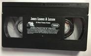 JamesLearnsaLesson2001VHSTape