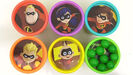Toys Unlimited Learning Colors with THE INCREDIBLES 2 Movie Characters Play-Doh Lid TOY SCHOOL Sound Ideas, ORCHESTRA BELLS - GLISS, UP, MUSIC, PERCUSSION 9