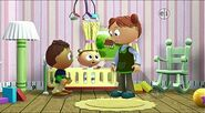 Super Why The Boy Who Cried Wolf-Joy cries