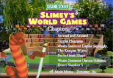 Slimey the Worm DVD Chapters2