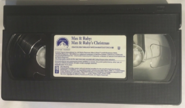 Max and Ruby's Christmas VHS Tape