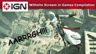 Wilhelm Scream in Games Compilation