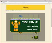 Moby's Maze Internet Safety 7