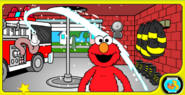 Elmo's Fire Safety Game 24