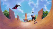 Extremely Goofy Movie CARTOON, WHISTLE - FALL WHISTLE, LONG 3