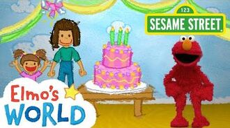 Sesame Street Birthdays Elmo's World-0