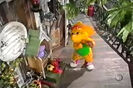 CARTOON, HORN - BICYCLE HORN, THREE TOOTS Barney & Friends 2